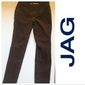 Jag brown cord jegging Nora high rise skinny s6